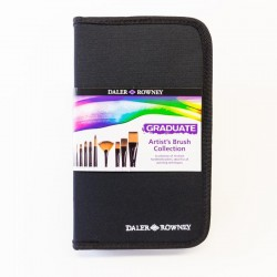 Daler Rowney Graduate Brush Set of 10 Zip Case - Short