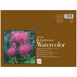 Strathmore Watercolour Block - 300gsm / 140lbs - CP - 15...